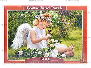 Пазл Castorland на 500 деталей «Ангел в саду», В-51991, фото