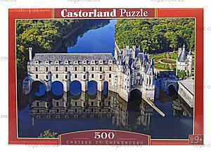 Пазл на 500 деталей «Замок Шенонсо. Франция», В-52103, фото