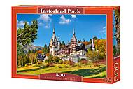 """Castorland пазлы 500 """"Замок Пелеш, Румыния"""", B-53292, отзывы"""