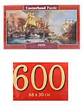Пазлы Castorland 600 «Морская битва», B-060252