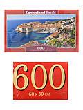 Пазлы Castorland 600 «Дубровник. Хорватия», B-060283, купить