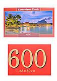 Кастор пазлы 600 «Французская Полинезия», B-060320, фото