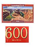 Пазлы Castorland 600 «Горный каньон. Аризона», B-060122, купить