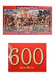 Кастор пазлы 600 «Грюндвальдская битва», B-060382, фото