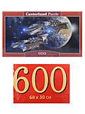 Пазлы Castorland 600 «Исследование космоса», B-060047