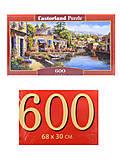 Пазлы Castorland 600 «Город на реке», B-060177