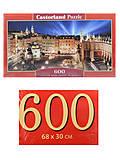 Пазлы Castorland 600 «Центральная площадь Кракова», B-060306