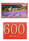 Кастор пазлы 600 «Нотр-Дам де Сенанк», B-060313, купить
