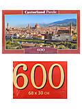 Пазлы Castorland 600 «Флоренция», B-060078