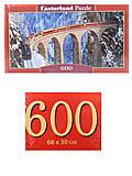 Пазлы Castorland 600 «Виадук Ландвассер», B-060016