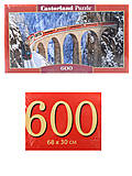 Пазлы Castorland 600 «Виадук Ландвассер», B-060016, фото
