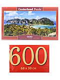 Пазлы Castorland 600 «Острова Фи Фи. Таиланд», B-060207, отзывы