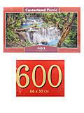 Пазлы Castorland 600 «Водопад», B-060160