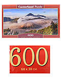 Пазлы Castorland 600 «Вулкан Бромо. Индонезия», B-060214, фото