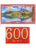 Пазлы Castorland 600 «Озеро Эмеральд», B-060092, отзывы