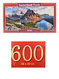 Пазлы Castorland 600 «Национальный парк Банф. Канада», B-060023, фото