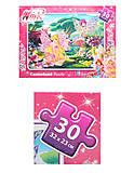 Пазлы на 30 деталей «Winx. Цветочная поляна», В-РU03351, фото