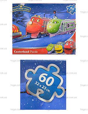 Пазл Castorland на 60 деталей «Зимние приключения в Чаггингтоне», В-РU06260