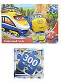 Пазл Castorland на 300 деталей «Веселые паровозы», В-РU30012, купить