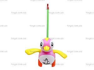 Каталка на палке «Пингвин», 986-38, цена