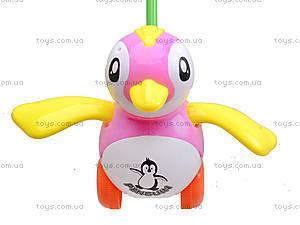 Каталка на палке «Пингвин», 986-38, игрушки