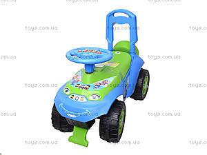 Каталка «Автошка» с музыкальным рулем, 013117R,U06, магазин игрушек