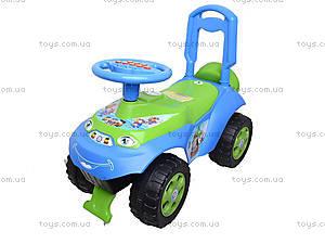 Каталка «Автошка» с музыкальным рулем, 013117R,U06, детский