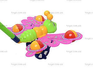 Игрушка-каталка на палке «Бабочка», 301, купить