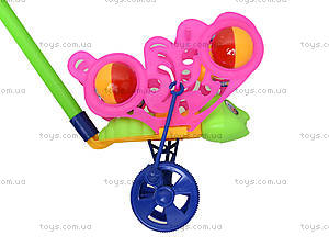 Игрушка-каталка на палке «Бабочка», 301, цена