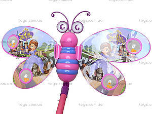 Каталка-бабочка с палочкой, 91856-3LL168LL169, отзывы