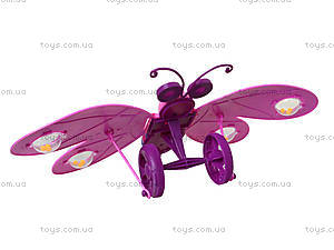 Каталка-бабочка с палочкой, 91856-3LL168LL169, детские игрушки
