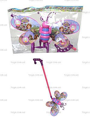 Каталка-бабочка с палочкой, 91856-3LL168LL169