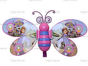 Каталка-бабочка с палочкой, 91856-3LL168LL169, игрушки
