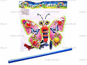Каталка «Бабочка», на палочке, 305, фото
