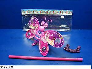 Каталка «Бабочка-Принцесса», 3803-2