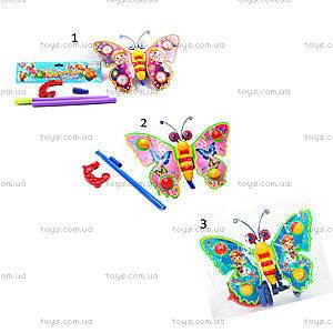 Каталка «Бабочка», розовая , 1200/305, детские игрушки