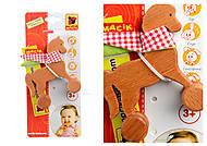 Каталка деревянная «Лошадка», MC061102-01