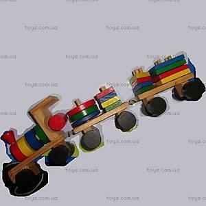 Каталка деревянная «Поезд», 2012-21