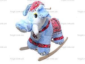 Каталка деревянная «Слон Раджа», 40013-3, фото