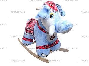 Каталка деревянная «Слон Раджа», 40013-3