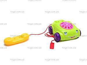 Каталка детская с телефоном, 0310, купить