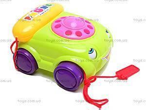 Каталка детская с телефоном, 0310