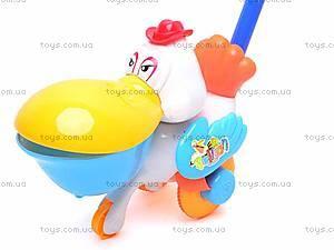 Каталка для детей «Пеликан», 345, игрушки