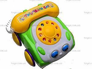 Каталка для детей «Телефон», 321-10A, купить