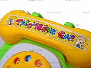 Каталка для детей «Телефон», 321-10A, фото