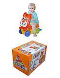 Каталка для детей «Тигрёнок», 8101A, отзывы