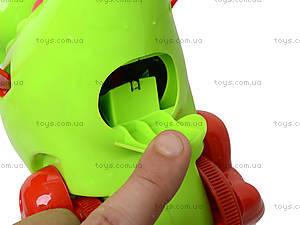 Детская каталка на палке «Динозаврик», 986-4, купить