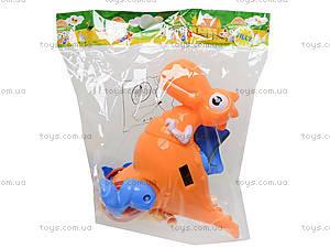 Детская каталка на палке «Динозаврик», 986-4, цена