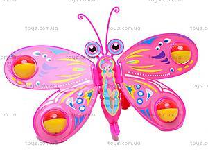 Каталка игрушечная «Бабочка», W883, игрушки