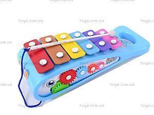 Каталка игрушечная «Ксилофон», 3059, фото